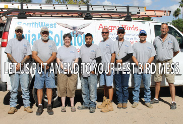 Southwest Avian Solutions staff picture